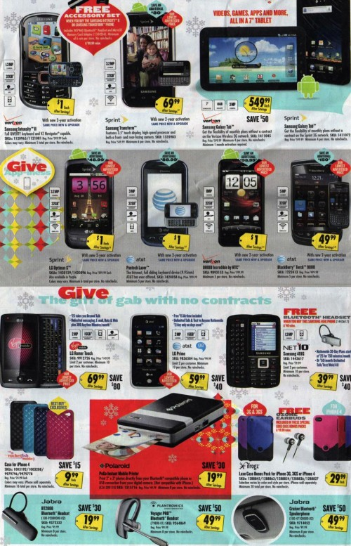 Best Buy Black Friday Ad 2010 Page 02