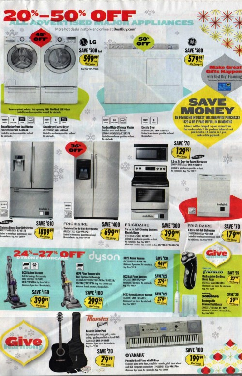 Best Buy Black Friday Ad 2010 Page 03