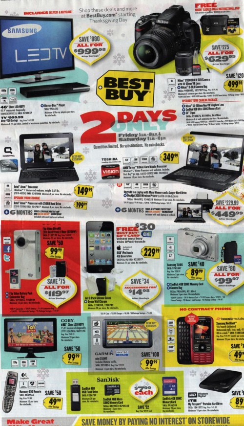 Best Buy Black Friday Ad 2010 Page 04