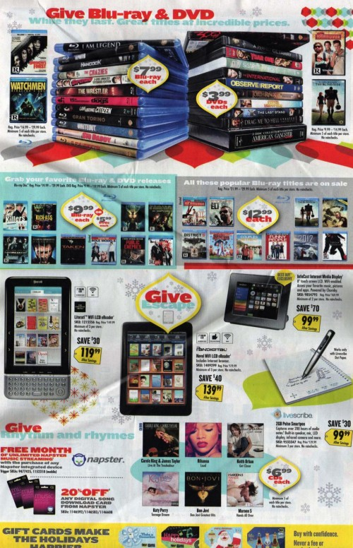 Best Buy Black Friday Ad 2010 Page 06