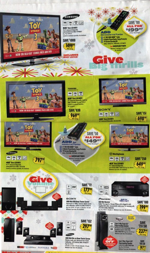Best Buy Black Friday Ad 2010 Page 07