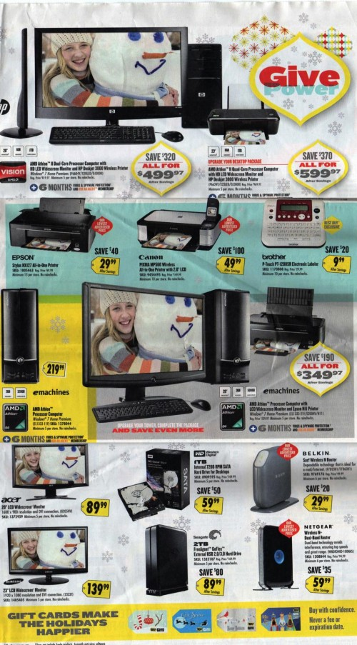 Best Buy Black Friday Ad 2010 Page 10