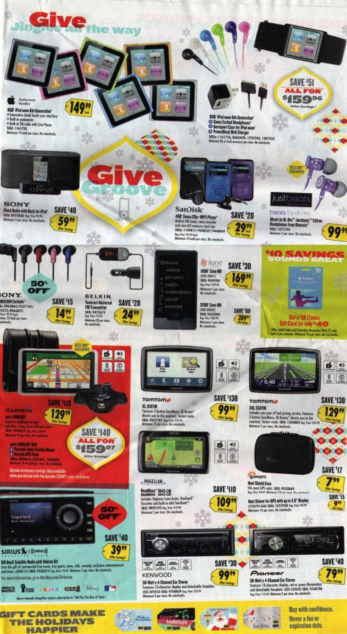 Best Buy Black Friday Ad 2010 Page 12