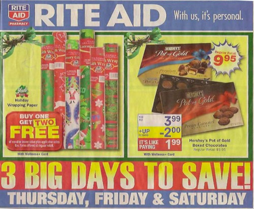 Rite Aid Black Friday Ad 2010 Page 01