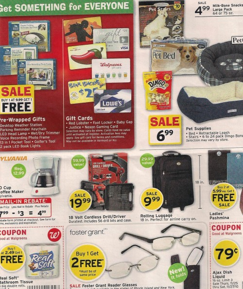 Walgreens Black Friday Ad 2010 Page 03
