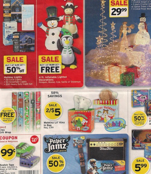 Walgreens Black Friday Ad 2010 Page 04