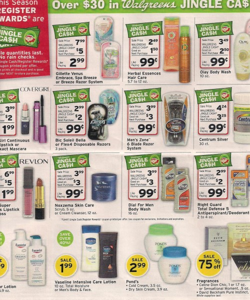 Walgreens Black Friday Ad 2010 Page 06