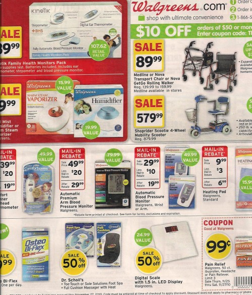 Walgreens Black Friday Ad 2010 Page 07