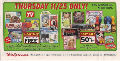 Walgreens Black Friday Ad 2010 Page 09