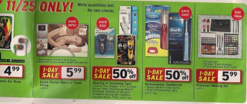 Walgreens Black Friday Ad 2010 Page 10