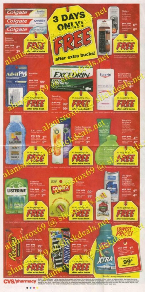 CVS Black Friday Ad 2010 Page 3