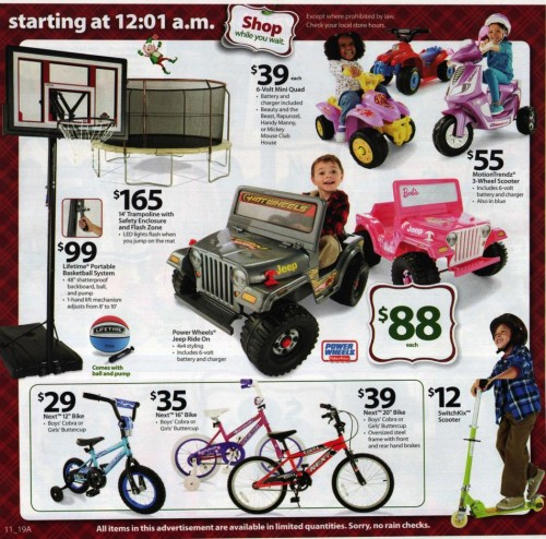 Walmart Black Friday Ad 2010 Page 11