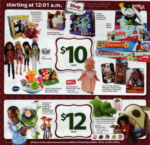 Walmart Black Friday Ad 2010 Page 13