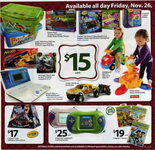 Walmart Black Friday Ad 2010 Page 14
