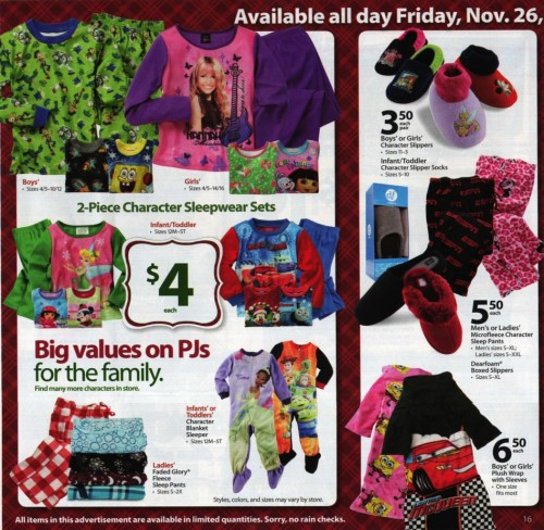 Walmart Black Friday Ad 2010 Page 16