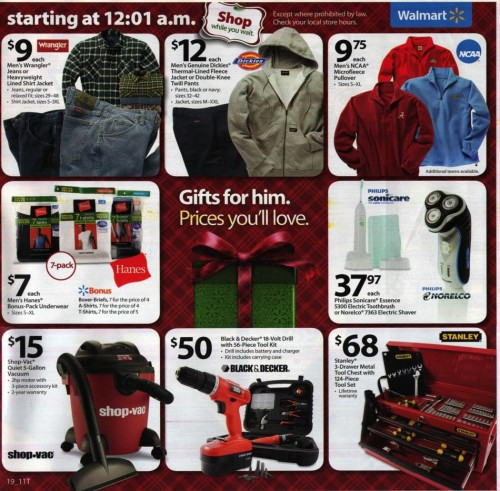 Walmart Black Friday Ad 2010 Page 19