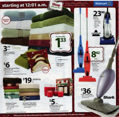 Walmart Black Friday Ad 2010 Page 21