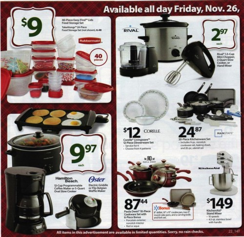 Walmart Black Friday Ad 2010 Page 22