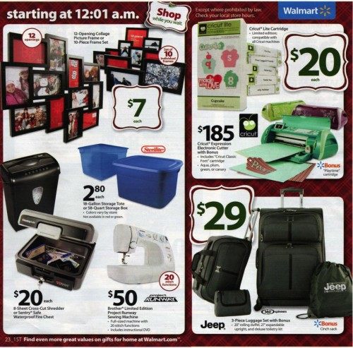 Walmart Black Friday Ad 2010 Page 23
