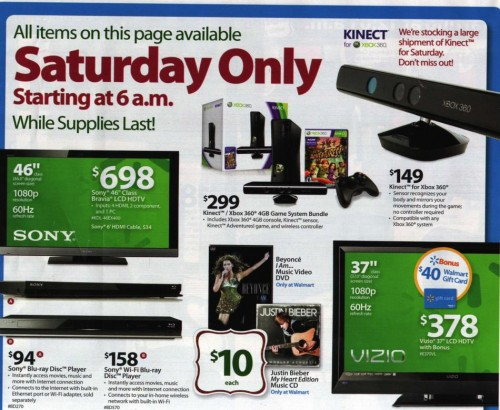 Walmart Black Friday Ad 2010 Page 24