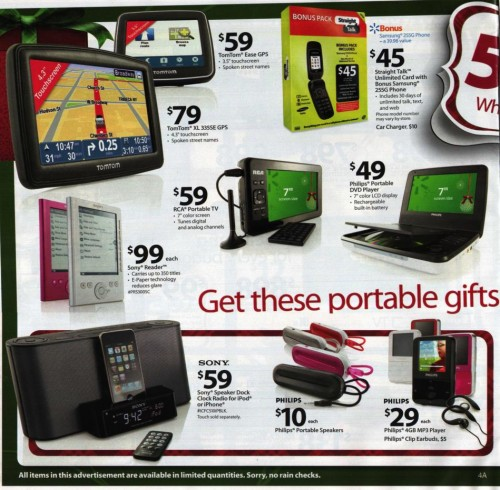Walmart Black Friday Ad 2010 Page 4