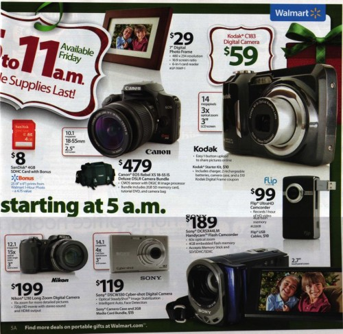 Walmart Black Friday Ad 2010 Page 5