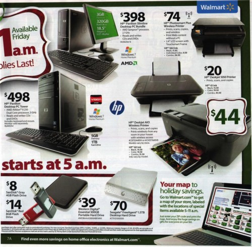 Walmart Black Friday Ad 2010 Page 7