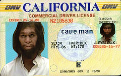 Identity Theft Internet Fraud Caveman