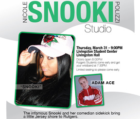 Post image for Rutgers University Issues Statement On Snooki's $32,000 Appearance