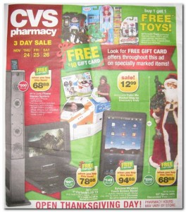 CVS Black Friday Ad Scan 1
