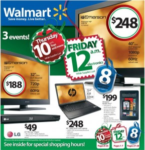 Walmart BLACK FRIDAY 2011 DEALS & Ad Scan — Faithful With A Few