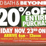 Black Friday 2012 Deals & Ad Scan: Bed Bath & Beyond