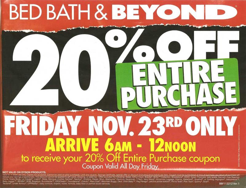Bed Bath & Beyond Black Friday 2012 Ad Scan 01
