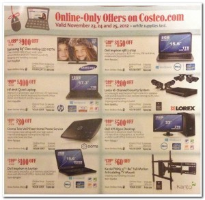 Costco Black Friday 2012 Ad Scan 09