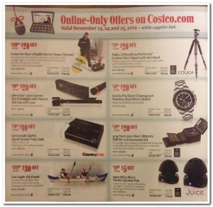 Costco Black Friday 2012 Ad Scan 10