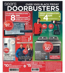 Sears Black Friday 2012 Ad Scan 01