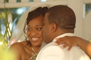 Sherrian and I at Wedding