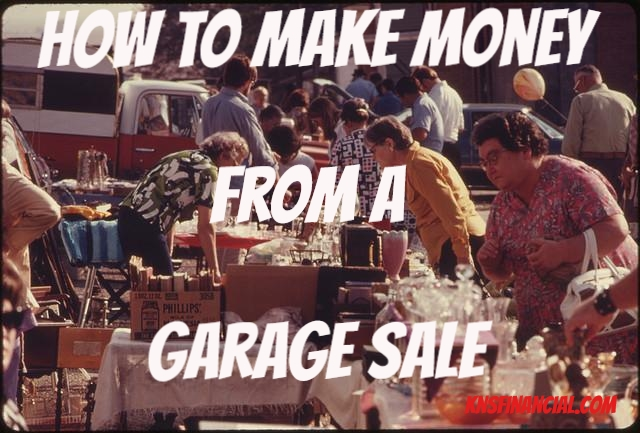 Make Money Garage Sale