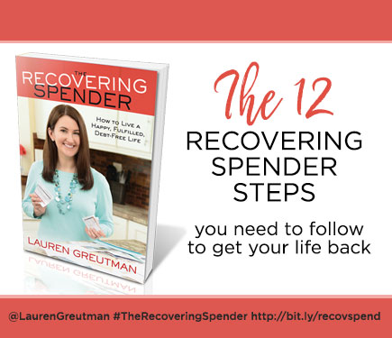 12 recovering spender steps