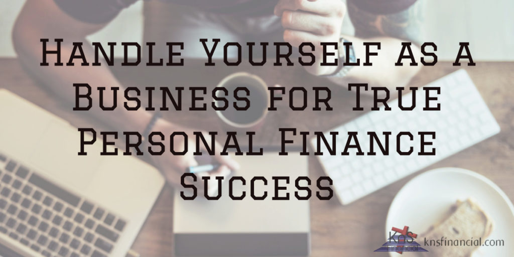 handle yourself as business
